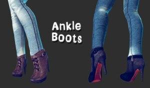 Sexy leggs y anckle zapatos