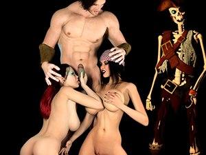 Jessica monstruo fetiche xxx juego del pirata