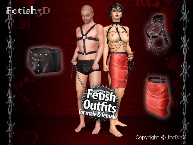 Ss 3d ropa fetiche